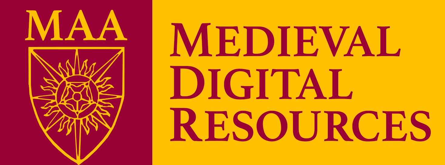 Medieval Academy of America's Medieval Digital Resources logo