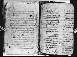 Amorgos_MS_63, main codex & f. [B]v (frag.)